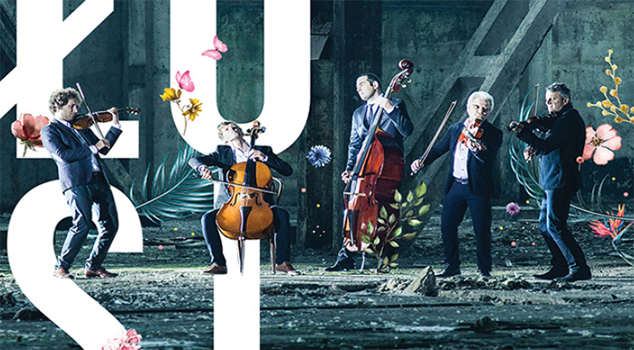 Polish String Quintet Volosi to Perform Tonight at Busan Citizen's Hall